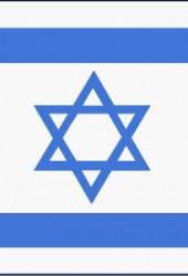 Israelsk flagg i nylon 80×110 cm