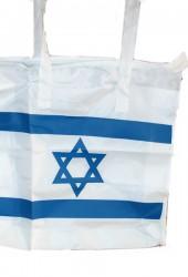Nylon-bag med det israelske flagget