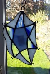 Glasskunst – Davidstjerne