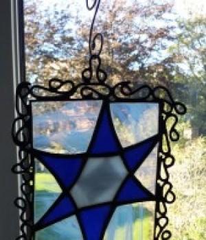 Glasskunst – Davidstjerne III