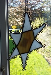Glasskunst – Davidstjerne II